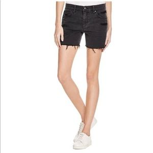 Joe's 'The Ex-Lover' Charcoal Loose BF Shorts